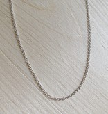 Marmalade Thin Silver Cable Chain