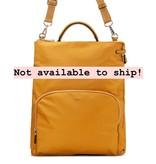 Christopher Kon Nylon Backpack- Mustard