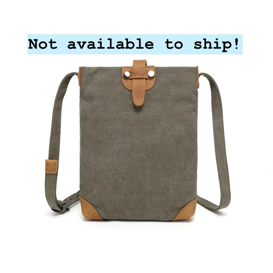 DaVan SSB511 Small Shoulder Bag- Green