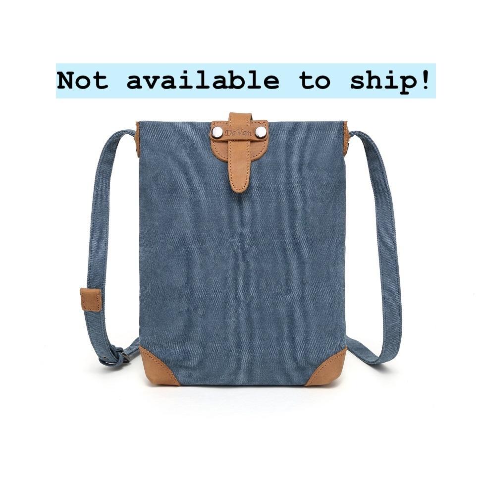 DaVan SSB511 Small Shoulder Bag- Blue
