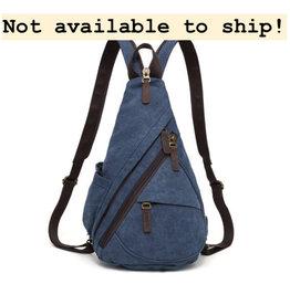 DaVan MF6881 Versatile Sling Bag- Blue