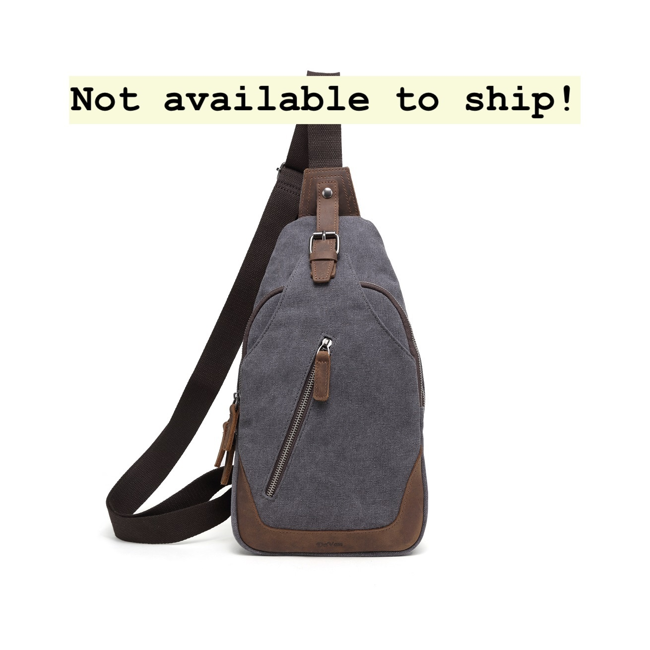 DaVan SLB540 Sling Bag- Grey