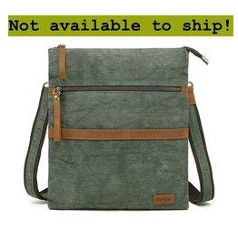 DaVan CLB564 Cotton/ Linen Shoulder Bag- Green