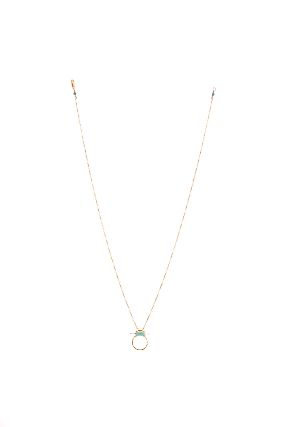 Hailey Gerrits Antigua Necklace- Green Turquoise