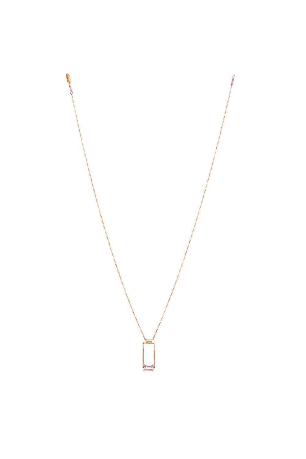 Hailey Gerrits Corsica Necklace- Pink Amethyst