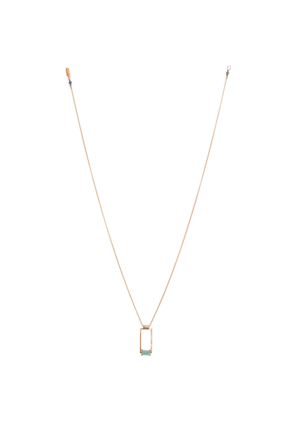 Hailey Gerrits Corsica Necklace- Green Turquoise