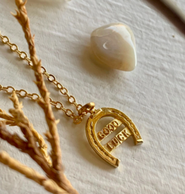 "Pika & Bear ""Good Luck"" Necklace"