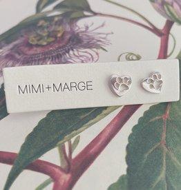mimi + marge Silver Bawa Stud