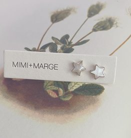 mimi + marge Shell Star Studs