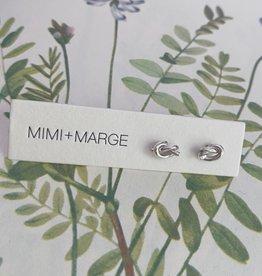 mimi + marge Knot Stud
