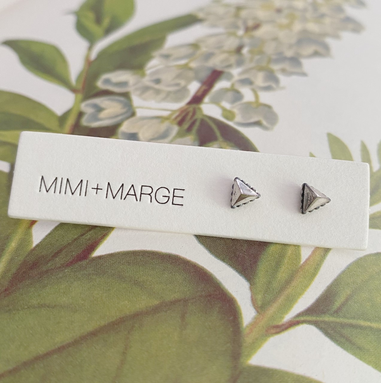 mimi + marge Pyramid Studs