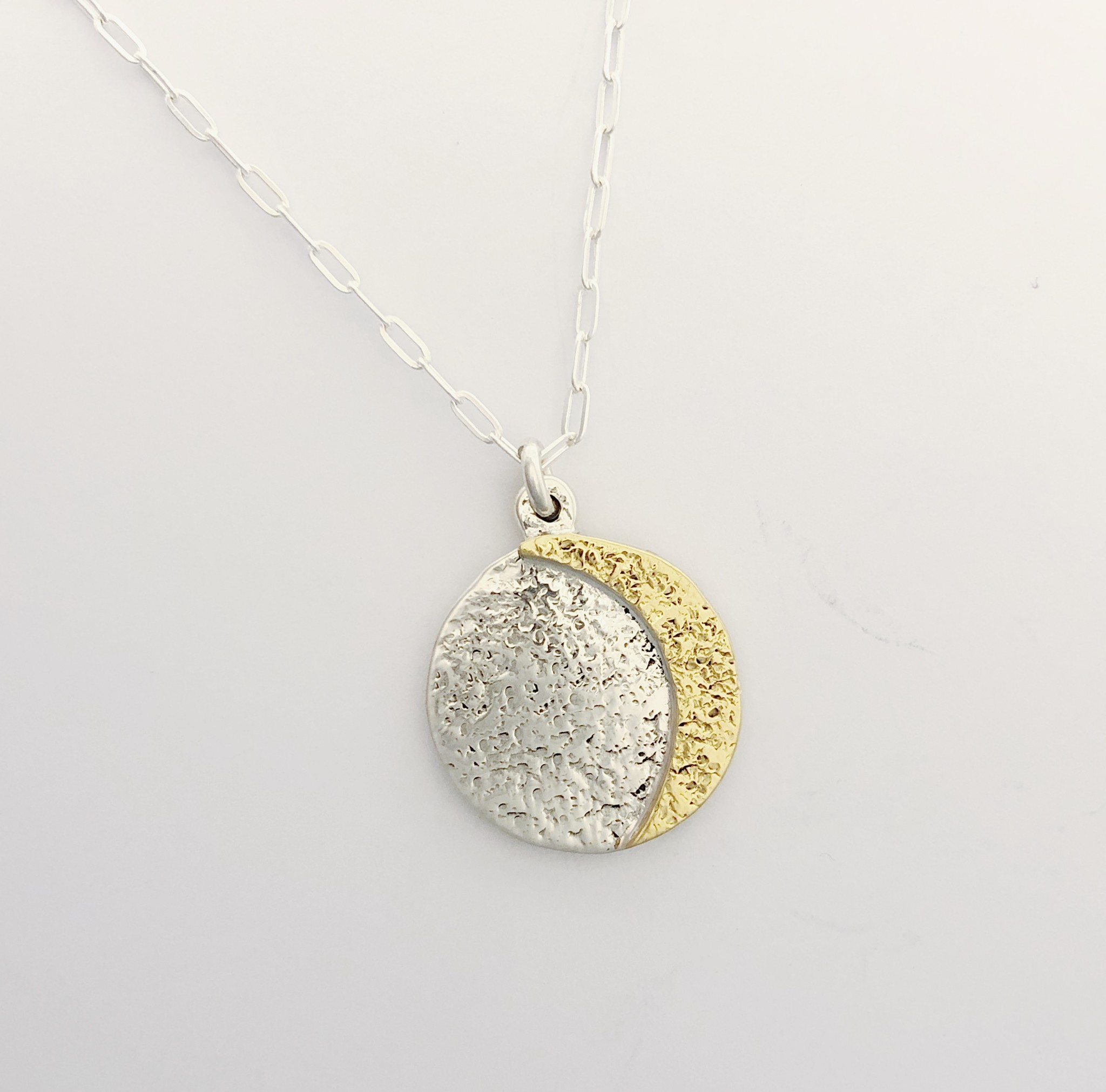 Lissa Bowie Moon Phase Necklace (Reversible)