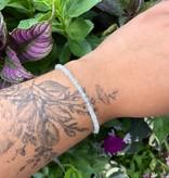 Dianne Rodger Silver Gem Stacker Bracelet- Aquamarine