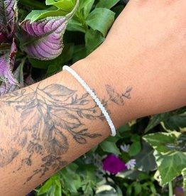 Dianne Rodger Silver Gem Stacker Bracelet- Misty Aquamarine