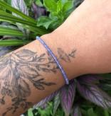 Dianne Rodger Silver Gem Stacker Bracelet- Tanzanite