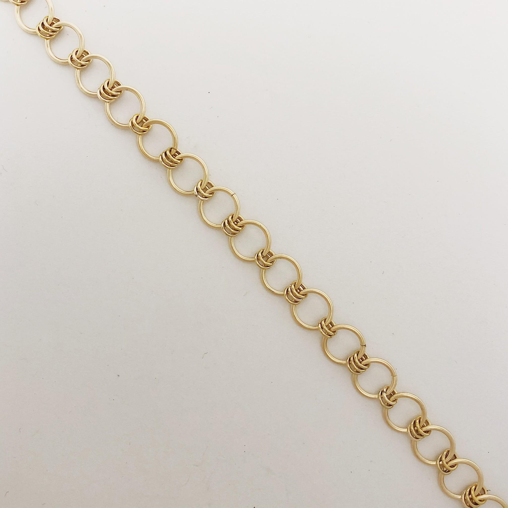 Dianne Rodger Gold Link Bracelet