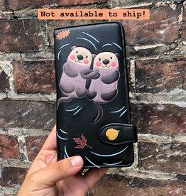 Shag Wear Otters Wallet- Black