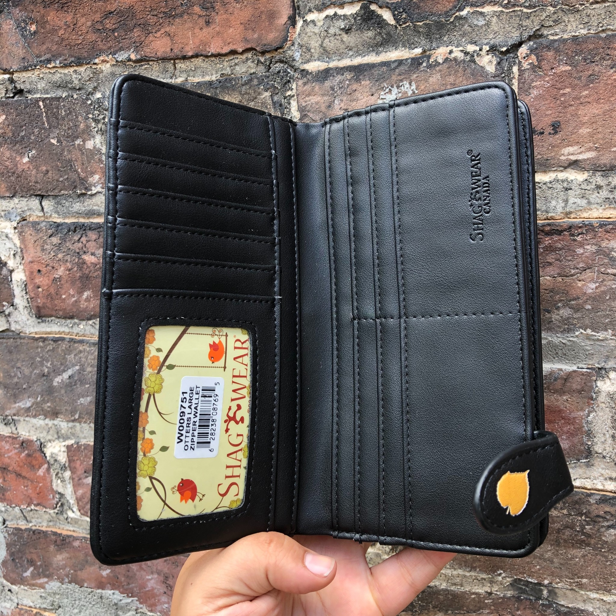 Shag Wear Otters Wallet- Black