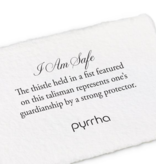 """Pyrrha Pyrrha- 14K Gold I Am Safe 18"""""""