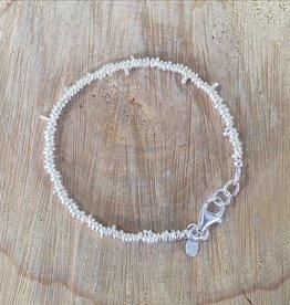 Talis Talis Silver Beaded Bracelet