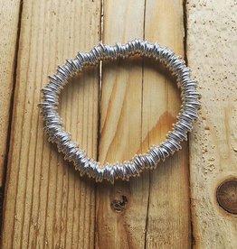 Bamiyan Silver Links Bracelet