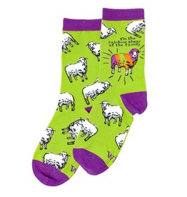 WIT Rainbow Sheep - WIT! Socks