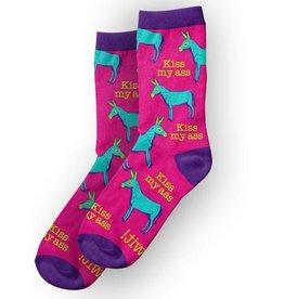 WIT Kiss My Ass - WIT! Socks