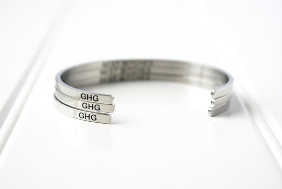 Glass House Goods Inner Voice Bangle - Boss Babe