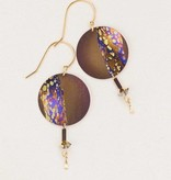Holly Yashi Brown Hidden Cove Earring