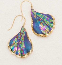Holly Yashi Purple Mermaid Tale Earring
