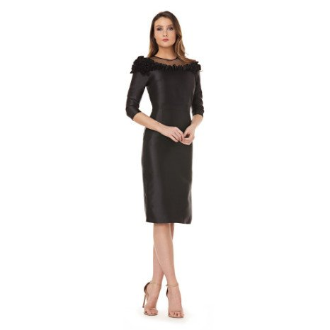 c24e8be730 Kay Unger Mesh Illusion Dress - CK Collection