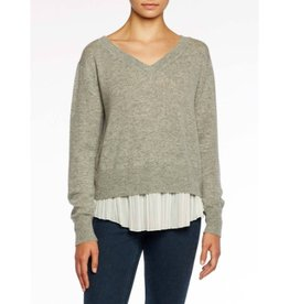 Brochu Walker Brochu Walker Layered Plisse Pullover