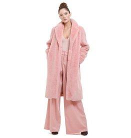 Alice & Olivia Alice & Olivia Foster Faux Fur Oversized Long Coat