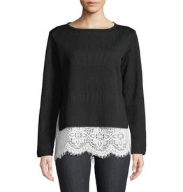 Finley Finley Wendy Polished Rib Knit Sweater