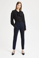 Theory Theory Plaid Knit Straight Trouser