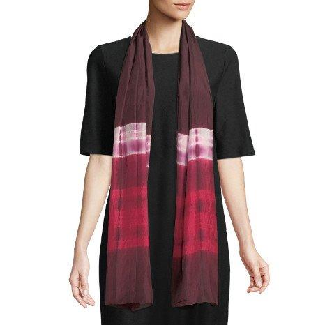Eileen Fisher Eileen Fisher Silk Shibori Ribbons Scarf