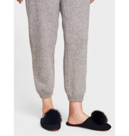White + Warren White + Warren Fur Pom Pom Slipper