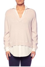 Brochu Walker Brochu Walker V-Neck Layered Pullover