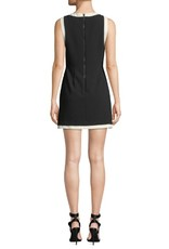 Alice & Olivia Alice & Olivia Truly Banded Neck Fitted Dress