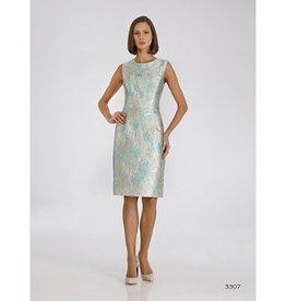 Bigio Sleeveless Jaquard Dress