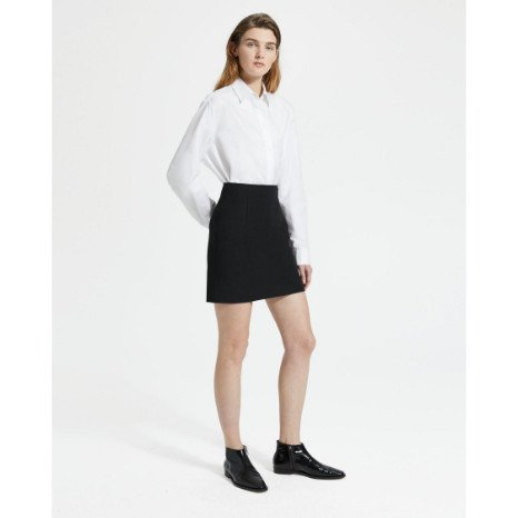 Theory Theory Mini Skirt Double St