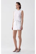 AGOLDE Quinn Hi Rise Mini Skirt