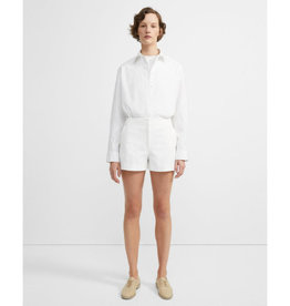 Theory Theory Double Stretch Cotton Mini Short