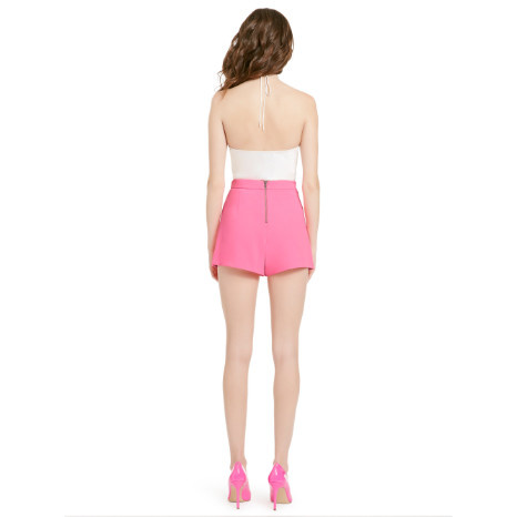 Alice & Olivia Alice & Olivia Larissa Open Pleat Front Short