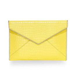 Rebecca Minkoff Rebecca Minkoff Leo Clutch Capr Yellow