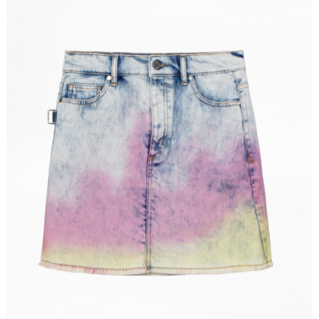 Zadig & Voltaire Juicy Tie Dye Skirt