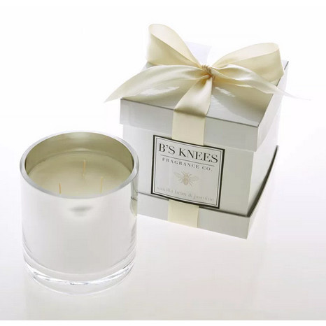 B's Knees Fragrance Co. B's Knees Vanilla and Jasmine 3- Wick Candle