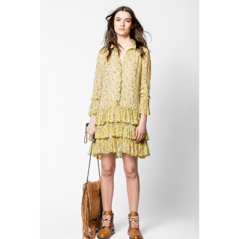Zadig & Voltaire Rebbie Anemone Dress
