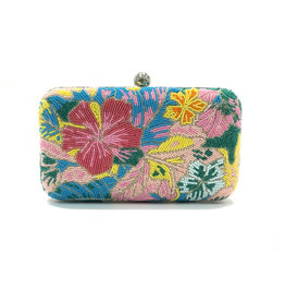 Moyna Box Bag Abstract Flowers