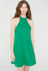 Alice & Olivia Alice & Olivia Susanna Mock Neck Swing Dress